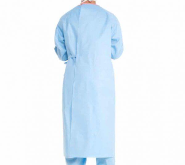 Bata Quirúrgica Impermeable y Reforzada AAMI 3 resistente a Líquidos 1220-135XL